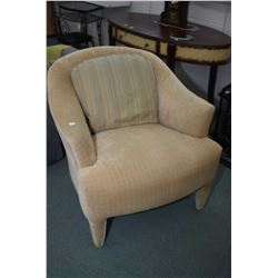 Modern quality upholstered parlour chair