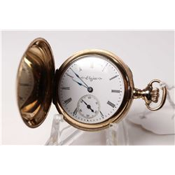 Elgin size 0, 7 jewel pocket watch, grade 320, model 2, serial #18361426, dates to 1915. 3/4 nickel