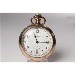 Burlington size 16, 19 jewel pocket watch, grade 106, model 9, serial #2846630 dates this watch to 1