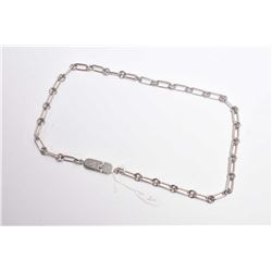 """Gucci brand 20"""" linked chain necklace marked 925"""
