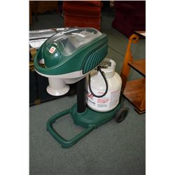 Mosquito Magnet Liberty model propane powered mosquito trap with propane tank