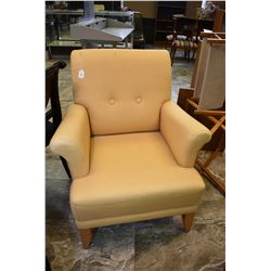 Modern style upholstered parlour chair