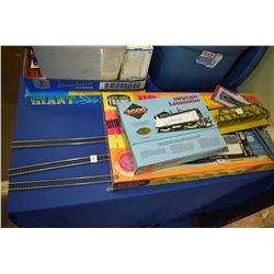 "Life-Like Trains new in package HO gauge trains and some track and new in box HO gauge ""Proto Series"