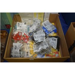 Selection of packaged Lego building blocks, platforms etc.