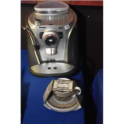 Saeco Odea Giro Plus coffee maker plus coffee cup set, not electric appliances not tested