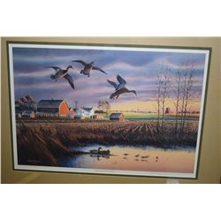 "Framed limited edition print ""Changing Season I"" pencil signed Raedeke 11162/15000"