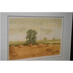"Framed limited edition print ""Summer"" pencil signed by artist 132/150"