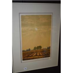 "Framed limited edition print ""Autumn"" pencil signed by artist 132/150"