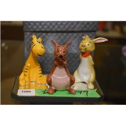 Three Beswick Walt Disney figures including Kanga, Rabbit and Tigger