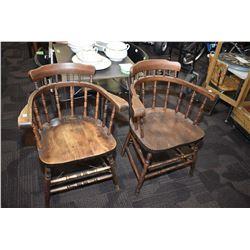 Pair of antique armchairs