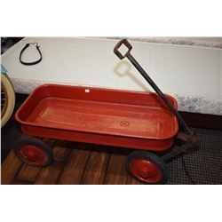 Child's vintage wagon, has been repainted