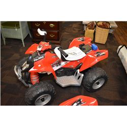 Polaris 450MXR rechargeable electric quad seems to be working great