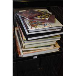 Selection of hardcover reference books including Art Nouveau, The Art of Faberge, Moorish Architectu