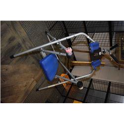 Ab Flyer exercise machine