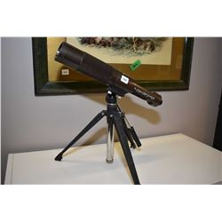 Carl Wetzler 15X-45X 50mm zoom telescope and tri-pod