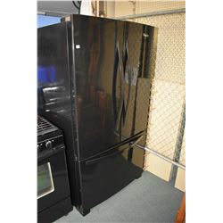 Whirlpool three door fridge with drawer style freezer