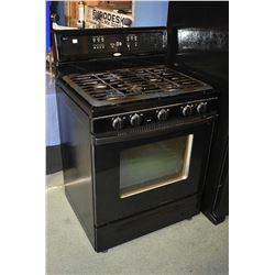 Whirlpool Accubake gas cook top with electric oven combination