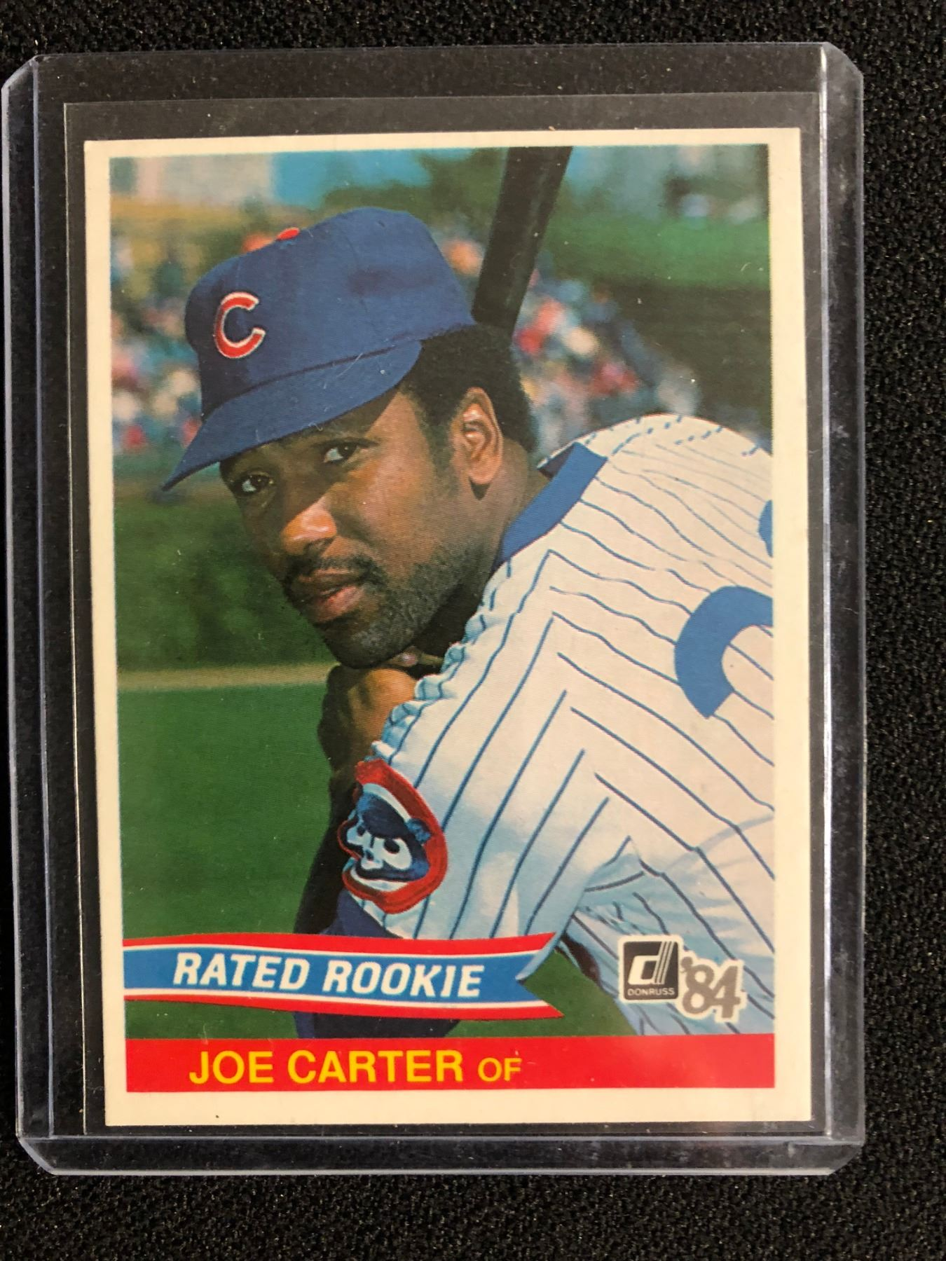 1984 Donruss Joe Carter Rookie Card