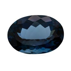 41.26 ct. Natural Oval Cut London Blue Topaz