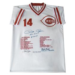Pete Rose Stats Jersey by Rose, Pete