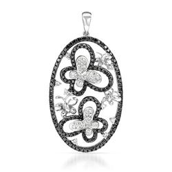 18k Gold 1.5CTW Diamond Pendant, (SI1/G-H)