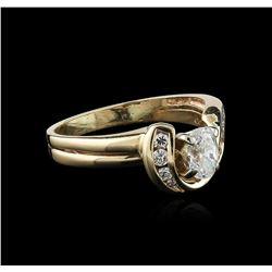 14KT Yellow Gold 0.50 ctw Diamond Ring
