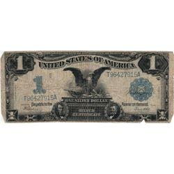 1899 $1 Black Eagle Silver Certificate Bill