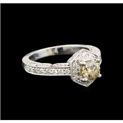18KT White Gold 1.45 ctw Diamond Ring