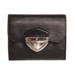Louis Vuitton Black Epi Leather Joey Wallet