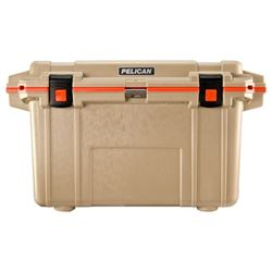 PELICAN IM 70QT ELITE COOLER TAN ORG