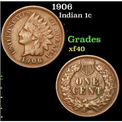 1906 . . Indian Cent 1c Grades xf