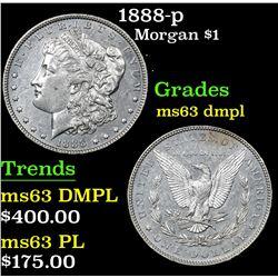 1888-p . . Morgan Dollar $1 Grades Select Unc DMPL