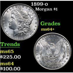 1899-o . . Morgan Dollar $1 Grades Choice+ Unc