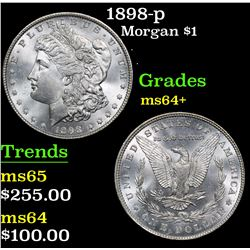 1898-p . . Morgan Dollar $1 Grades Choice+ Unc