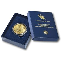 Random Date US Gold ONE OUNCE Eagle in Mint Box
