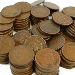(100) Good Grade Indian Head Cents