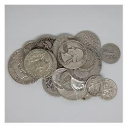 $5 Face Value 90% Silver Mix