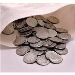 Bank Bag of 500 Roosevelt 90% Silver Dimes