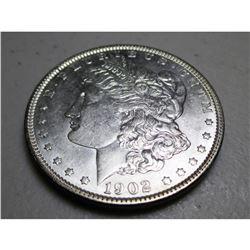 1902 P BU Morgan Dollar