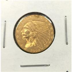 1926 $2.5 Gold Indian Quarter Eagle