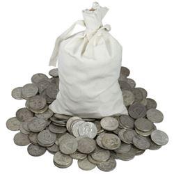 $250 Face Value Franklin Half Dollars in Bag-90%