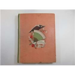 """Moden Almnach"", 1933, Clothing Styles Illustrated Card Book with Fabrics"
