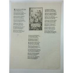 A Museum Quality 1720 John Law Broadside.