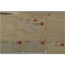Letters from Thomas Edison's Laboratory 1911-1914