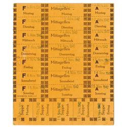 Workers Ration Cards, 1942 Used by Workers from Concentration or Slave Labor Camps.