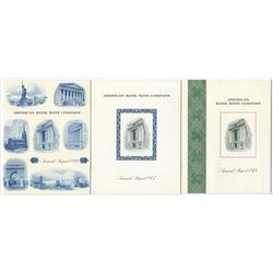American Bank Note Co. Annual Reports, 1974-1976