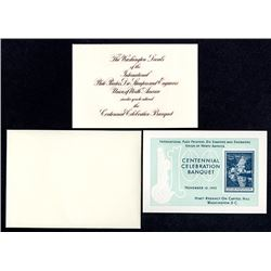 International Plate Printers, Die Stampers & Engravers Union of North America. Centennial Celebratio