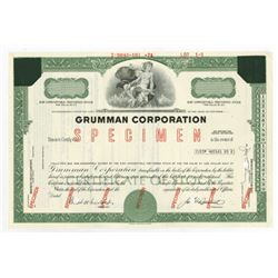 Grumman Corp., 1974 Specimen Stock Certificate