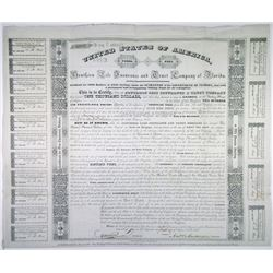Southern Life Insurance and Trust Co. of Florida, 1839 Issued Bond