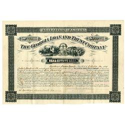 Georgia Loan & Trust Co., 1885 Issued Bond